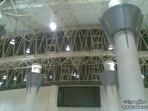 أسقف المطار من الكيربي