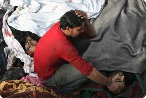 حسرة على شهداء غزة