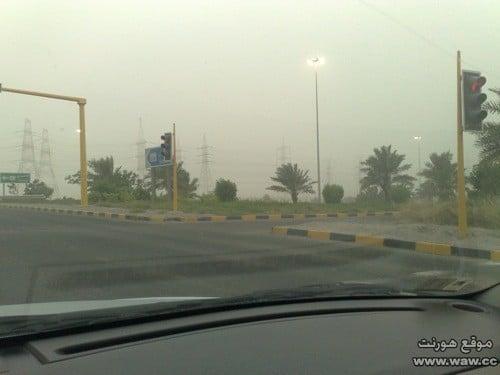 غبار في الكويت