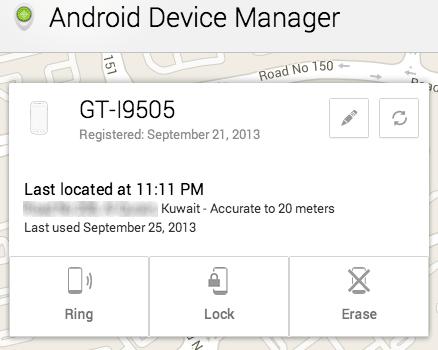 Android Devicemanager