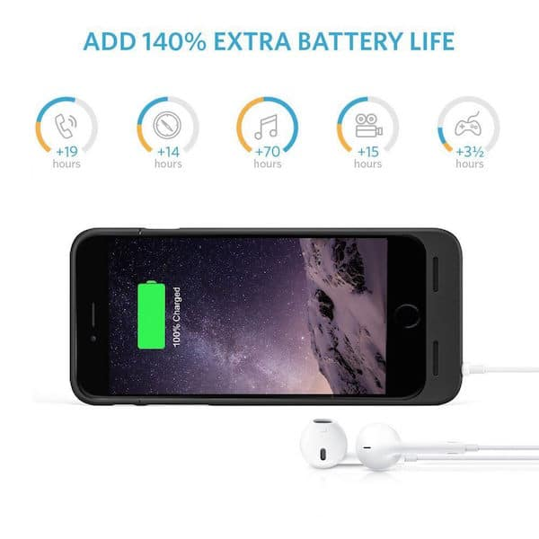 Anker Ultra Slim Extended Battery Case 140