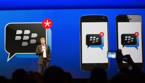 BB for iphone and android