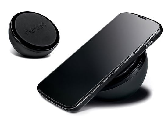 Nexus 4 wireless charging