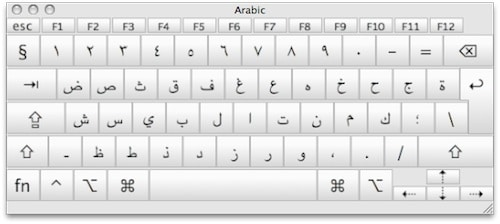 كيبورد عربي