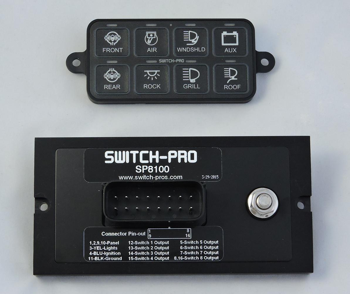 Switch Pros SP8100
