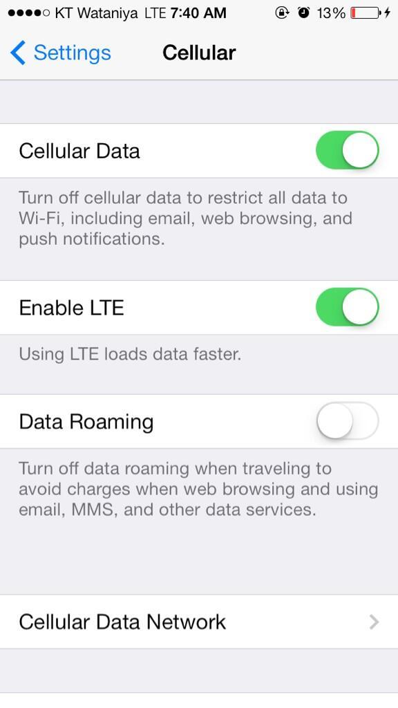 Wataniya LTE