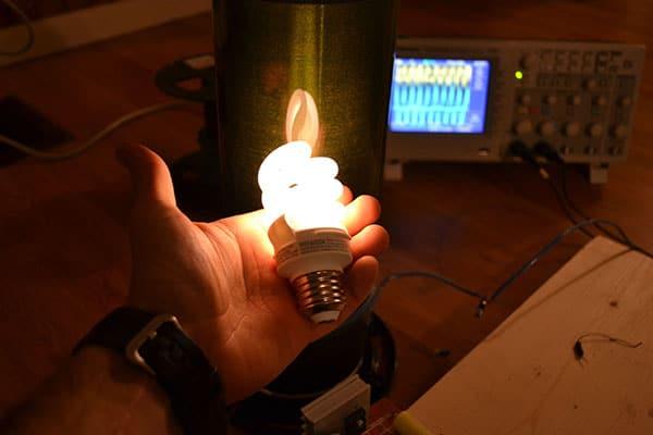 Wireless Electricity bulb