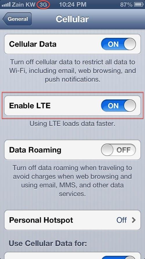 ZAIN LTE/4G