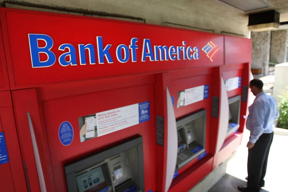 bank of america atm on las vegas strip