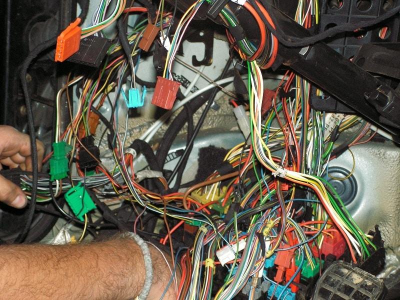 funny wiring car
