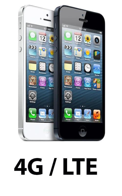 iphone 5 LTE/4G