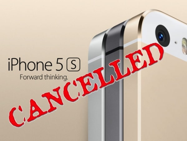 iphone5s canceld