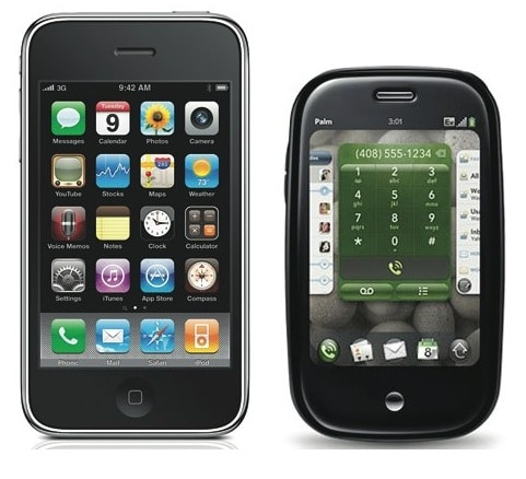 iphone and palm pre