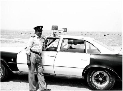 ضابط عند الدورية