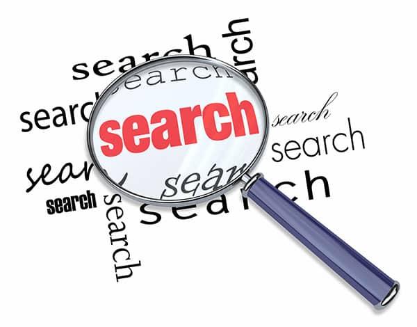 البحث في الويب