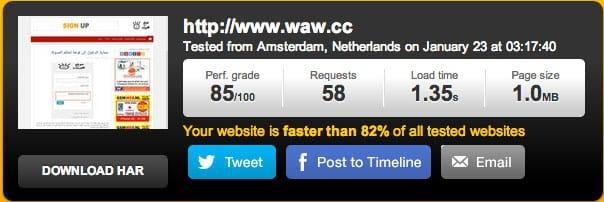 wawcc speed test